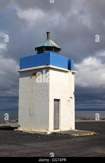 Vatnsnesvitinn lighthouse, Iceland - Stock Image
