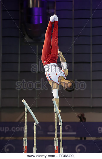 Gymnastics World Cup  Glasgow - Stock Image