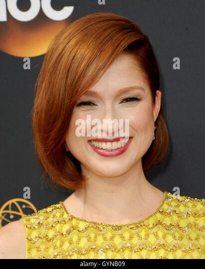 Los Angeles, CA, USA. 18th Sep, 2016. Ellie Kemper at arrivals for The 68th Annual Primetime Emmy Awards 2016 - - Stock-Bilder