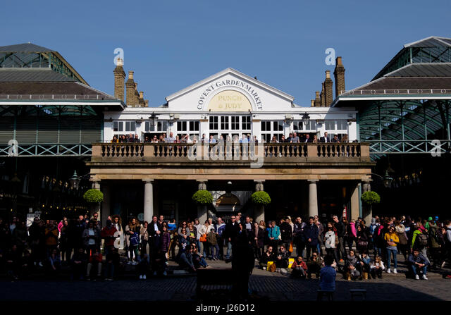 Covent Garden, London, UK, - Stock Image