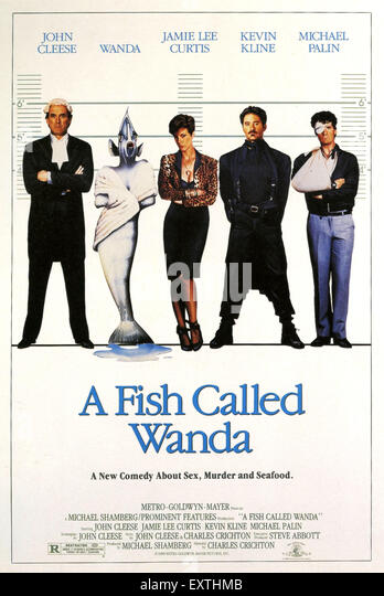 A fish called wanda stock photos a fish called wanda for A fish called wanda cast