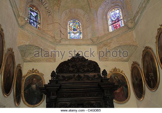 Santo Domingo Dominican Republic Ciudad Colonia Basilica Santa María La Menor National Cathedral 1541 World - Stock Image