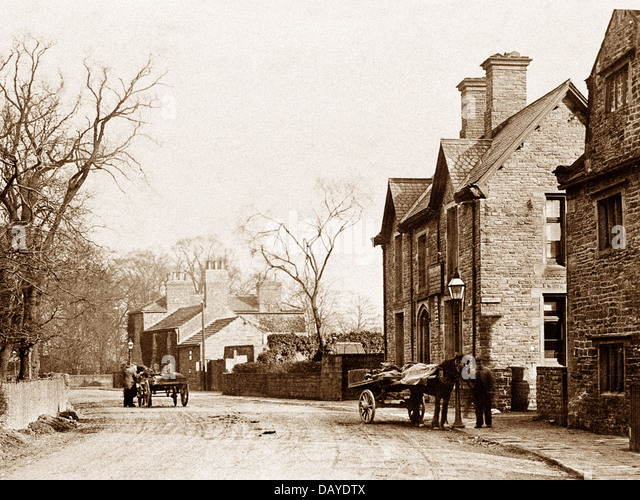 Methley early 1900s - Stock Image