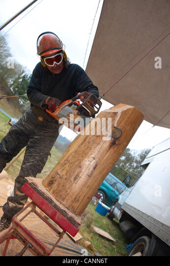Chainsaw art stock photos images alamy