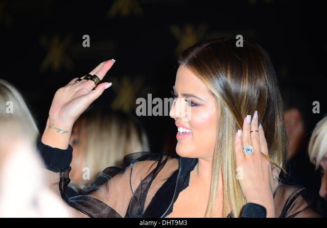London UK 14th Nov 2013 : Khloe Kardashian  attends the launch party for the Kardashian Kollection for Lipsy at - Stock Image