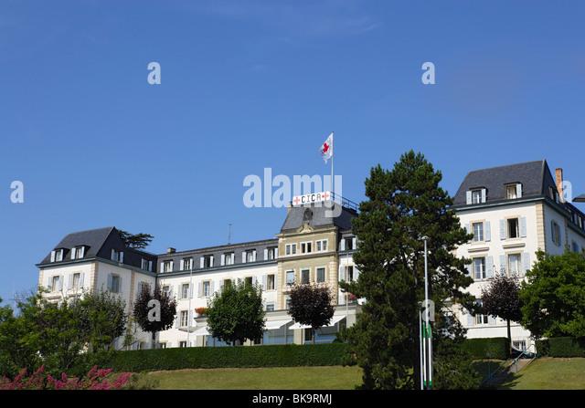 Headquarters of the International Committee of the Red Cross, Geneva, Canton of Geneva, Switzerland - Stock Image