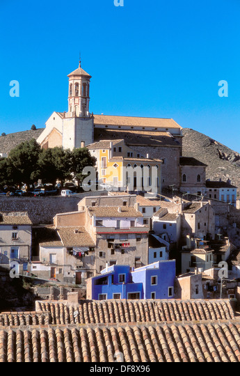 Cehegin. Santa Maria Magdalena church, XV-XVIth century. Murcia province. - Stock Image