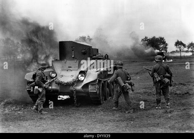Beginning of the offensive in Russia, 22.06.1941 - Stock Image