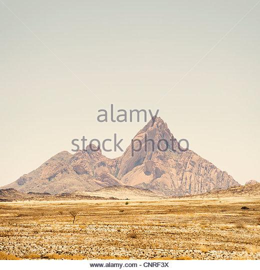 Spitzkoppe, Namib desert, Namibia. - Stock Image