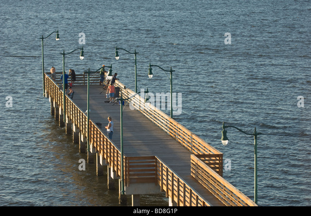 Indian river lagoon florida stock photos indian river for Sebastian inlet fishing pier