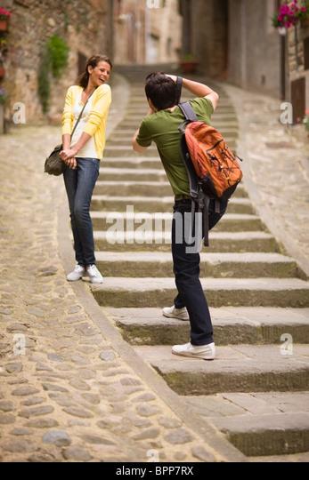 Tourists - Stock Image