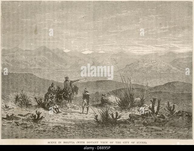Bolivia Sucre - Stock Image