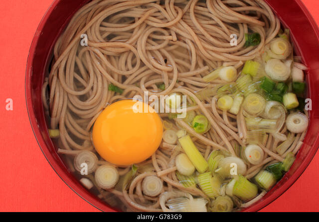 Soba Noodle Dish Stock Photos & Soba Noodle Dish Stock ...