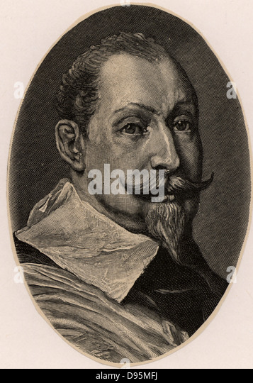Gustavus Adolphus (1594-1632) King of Sweden from 1611.  In Thirty Years War (1618-1648) intervened on behalf of - Stock Image