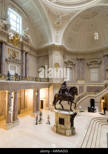 Entrance hall Bode Museum Museum Island Berlin Germany - Stock Image