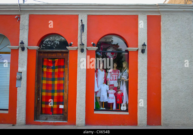 Shopping, San Jose del Cabo, Baja, Mexico - Stock Image