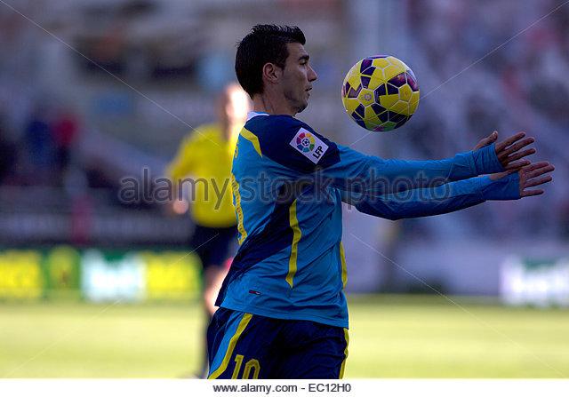 SPAIN, Madrid: Sevilla FC´s Spanish forward player Jose Antinio Reyes during the Spanish League 2014/15 match - Stock Image