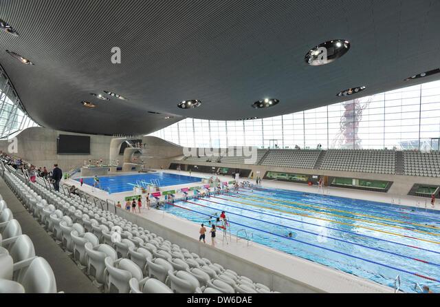 Olympic Park Aquatic Centre Orbit Stock Photos Olympic Park Aquatic Centre Orbit Stock Images