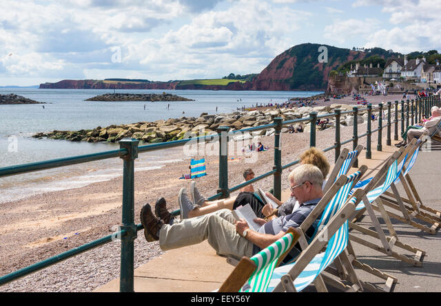 British Seaside Deck Chairs Stock Photos Amp British Seaside