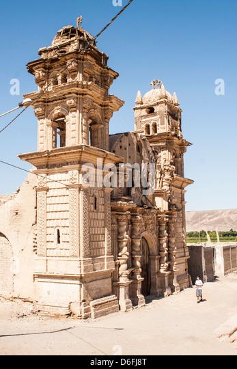 Church of San José (Iglesia de San José), in El Ingenio district, built by Spanish settlers in 18th century. - Stock Image