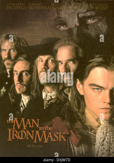 THE MAN IN THE IRON MASK (BR1998) POSTER PICTURE FROM THE RO - Stock Image