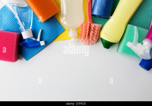 how to clean white stuff on title