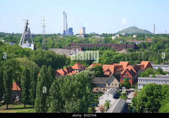 Internationale Bauausstellung Emscherpark Stock Photos