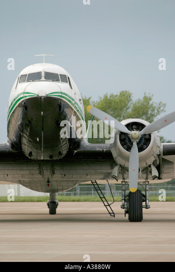 Classic airliner - Stock Image