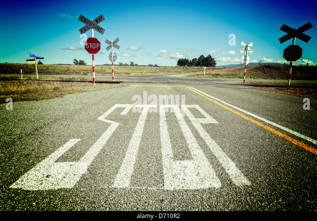 Uncontrolled Railroad Crossing Level Crossing Stock P...