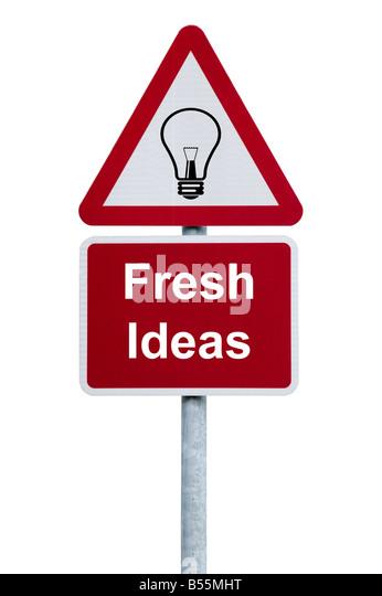 Fresh Ideas - Stock Image