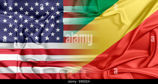 USA and Republic of the Congo - Stock-Bilder