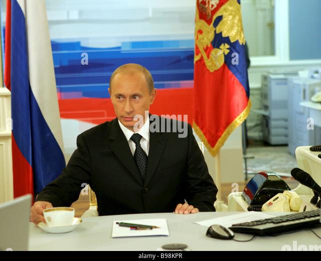 Putin Tv Stock Photos & Putin Tv Stock Images - Alamy