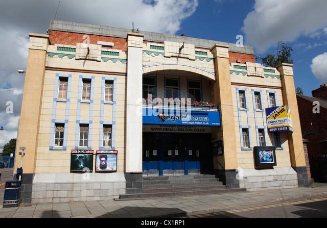 The Regal Cinema, Melton Mowbray, Leicestershire, England, U.K. - Stock Image