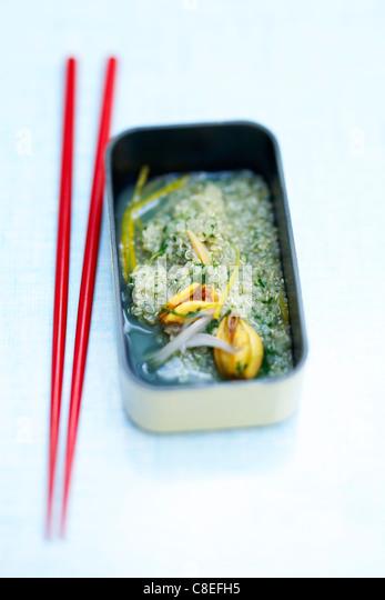 Quinoa stew - Stock Image