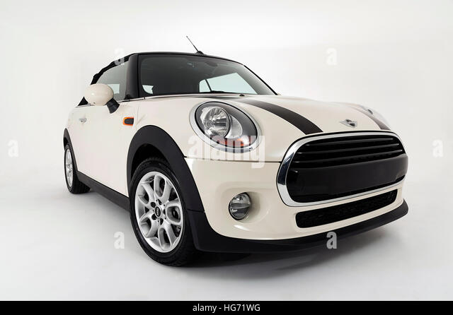 2017 Mini Cooper Convertible - Stock Image