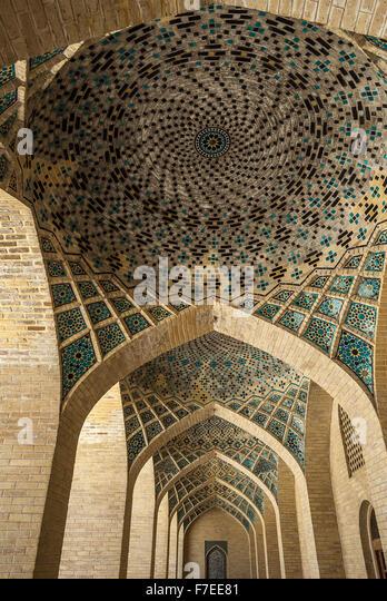 Vakil mosque, Shiraz, Iran - Stock Image
