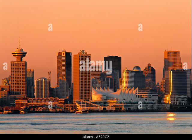 Vancouver, British Columbia, Canada - Stock Image