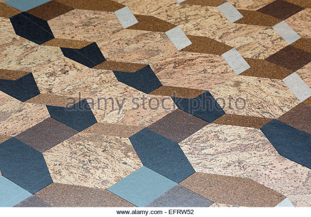 London Design Festival 2013, London, United Kingdom. Architect: Various Architects, 2013. Floor detail. - Stock Image