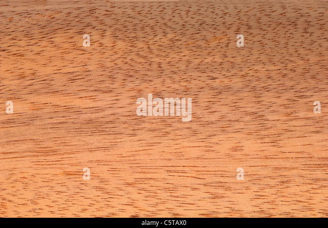 Wood surface, Dabema Wood (Piptadeniastrum africanum) full frame - Stock-Bilder