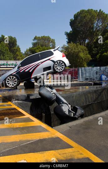 Car Stunt Show In Hollywood Studios Universal