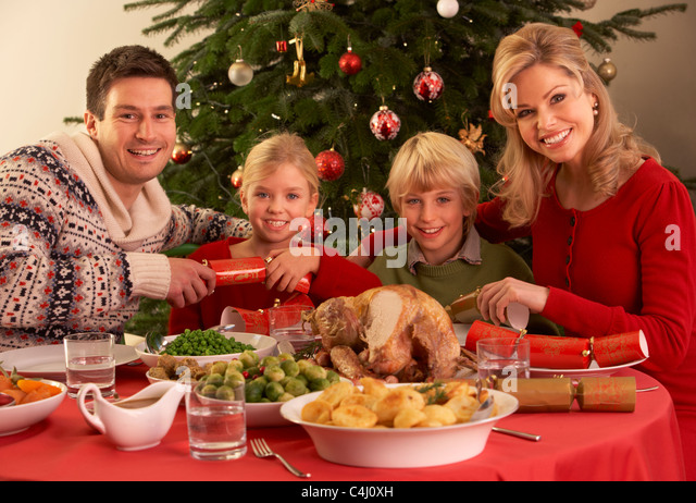 Christmas family dinner witha a twist 9