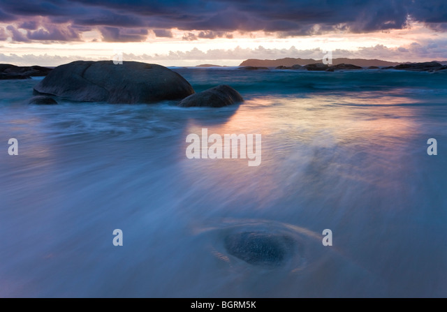 William Beach, William Bay National Park, nr Denmark, Western Australia - Stock Image