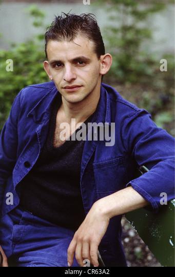 Horwitz, Dominique, * 23.4.1957, German actor, half length, 1990s, - Stock-Bilder