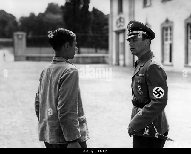 Moviestill from 'Kopf hoch, Johannes!', 1941 - Stock Image