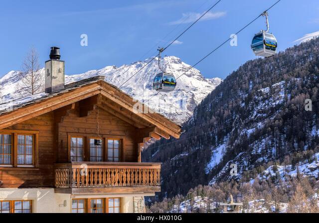 Furi, Zermatt, Valais, Switzerland, Europe - Stock-Bilder