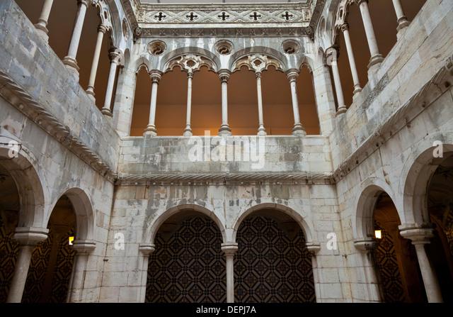 Tile Museum Portugal : Lisbon tile museum stock photos