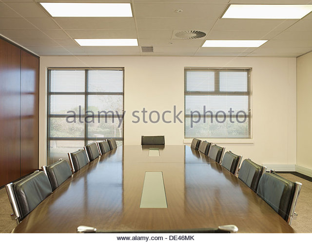 Empty conference room - Stock Image