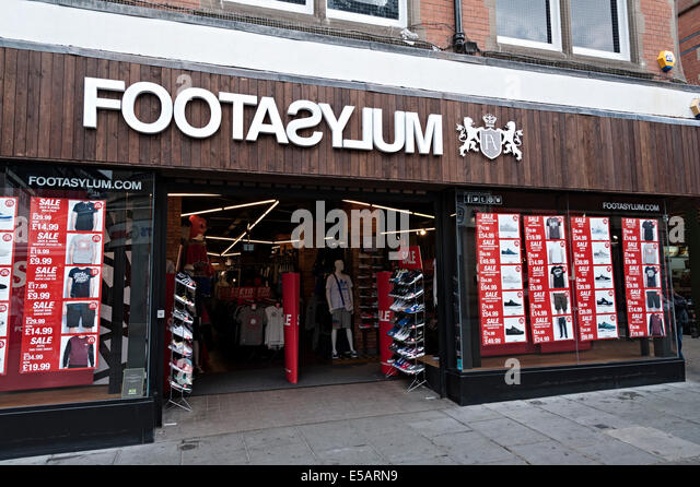Shoe Shops On Nottingham