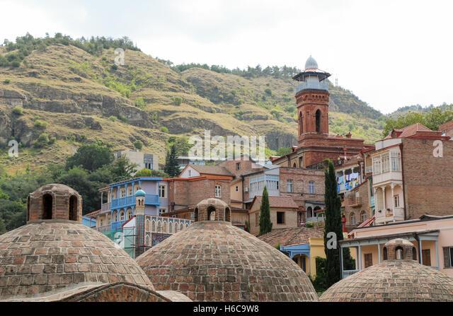 Tbilisi Georgia Police Stock Photos Tbilisi Georgia: Old Town Tbilisi Stock Photos & Old Town Tbilisi Stock
