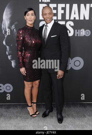 Hollywood, CA, USA. 22nd June, 2017. 22 June 2017 - Hollywood, California - Nicole Young, Dr. Dre. HBO's ''The - Stock Image